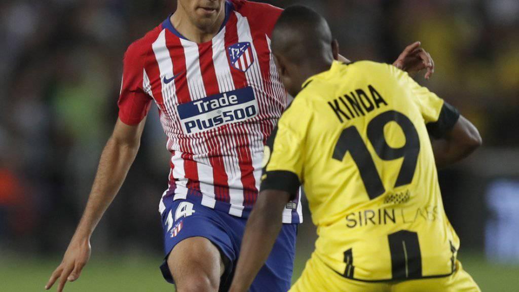 Rodrigo weckte mit seinen Auftritten bei Atlético Madrid  das Interesse der finanzstärksten Klubs Europas