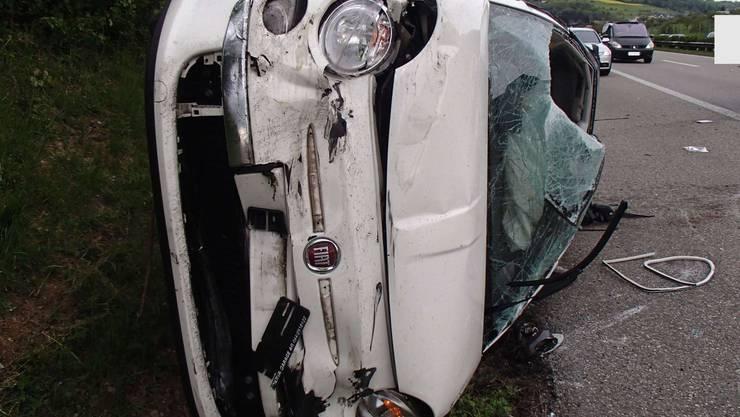 Der 20-Jährige fuhr dem vorausfahrenden VW ins Heck.