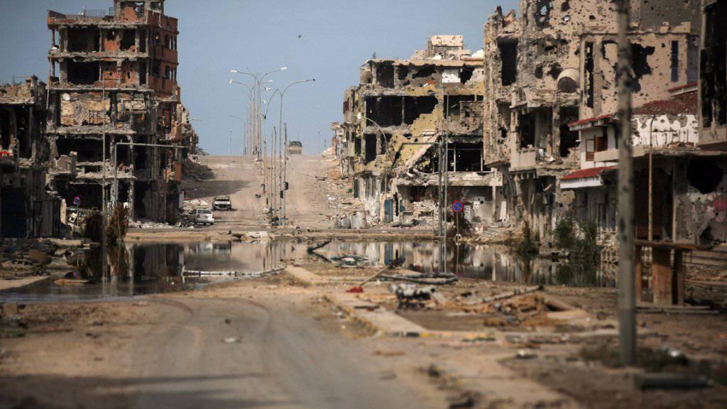 Archivaufnahme des seit Jahren umkämpften Sirte aus dem Jahr 2011.