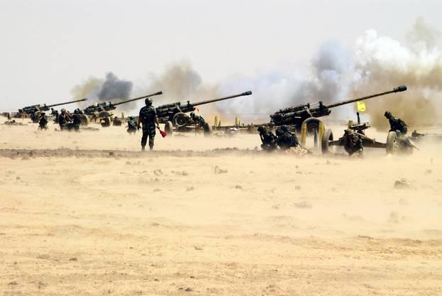 Die Syrische Armee gerät zunehmend in Bedrängnis und greift möglicherweise zu drastischen Mitteln