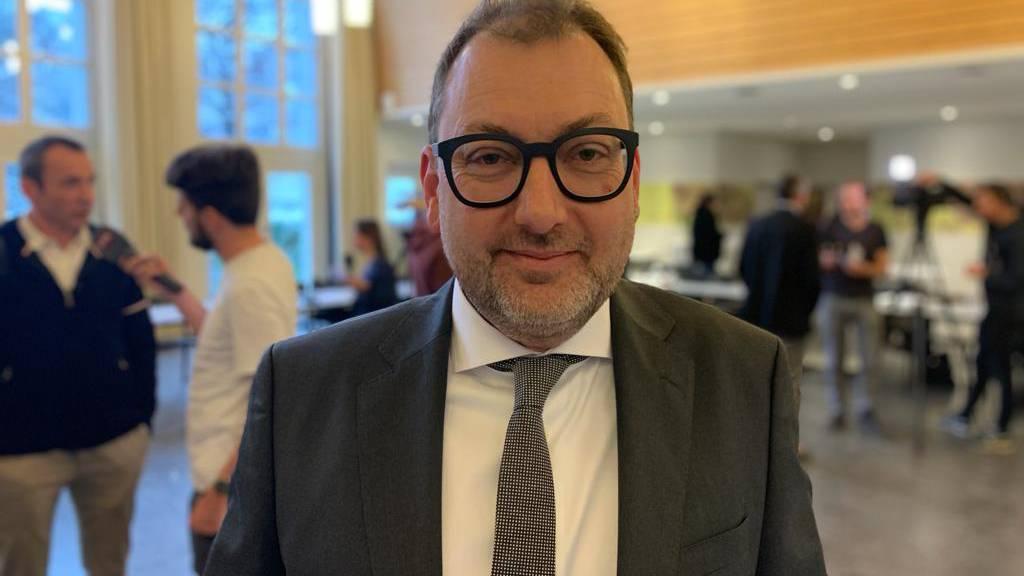 Peter Peyer, Leiter Departement für Justiz, Sicherheit und Gesundheit (DJSG)