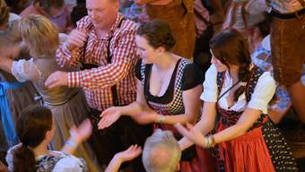 Besuch am Oktoberfest Solothurn 2015