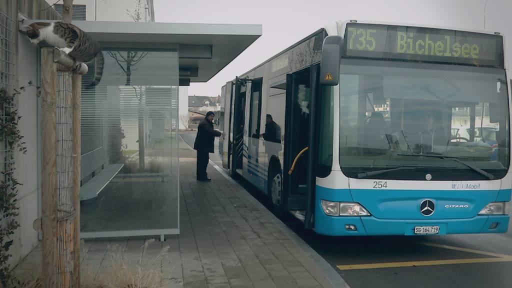 Der Bus soll nur noch bis Ende 2018 in Wallenwil halten