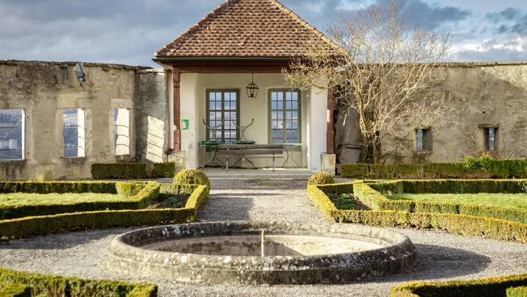 Gartenrestaurant mit der besten Aussicht der Stadt: Auf der Westseite des Bernerhauses gibt es Ausensitzplätze des «Schloss-Bistro».
