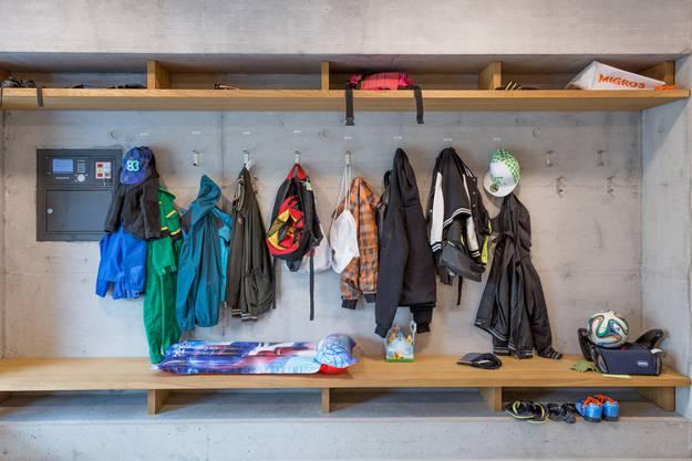 Die Garderobe zeigt: Bei diesem Wetter will niemand nach draussen