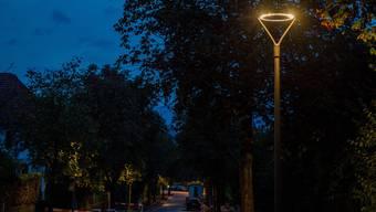 Die neue Strassenbeleuchtung in Aarau