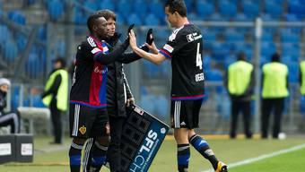 Philipp Degen bei seiner Auswechslung in seinem vorerst letzten Spiel für den FC Basel.