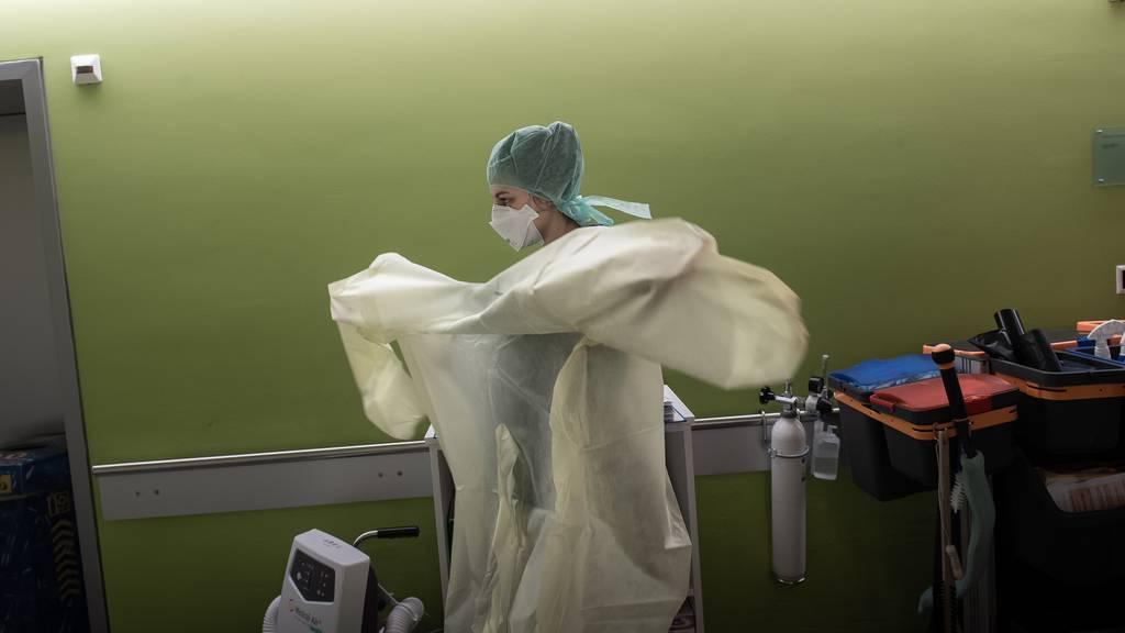 10 Prozent aller Covid-19-Patientenschweben in Lebensgefahr
