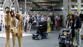 Ausstellung Inspiration durch Transparenz Biberist