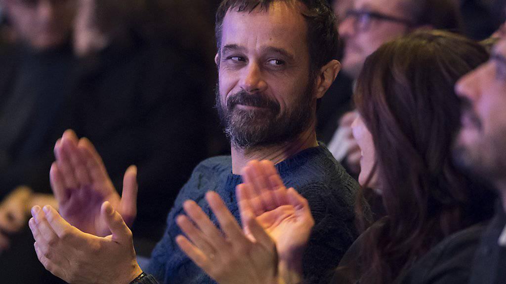 Der oscarnominierte Regisseur Claude Barras bei der Nacht der Nominationen der 52. Solothurner Filmtage, am Mittwoch, 25. Januar 2017. Wird sein Animationsfilm «Ma vie de Courgette» heute den Schweizer Filmpreis Quartz erhalten?