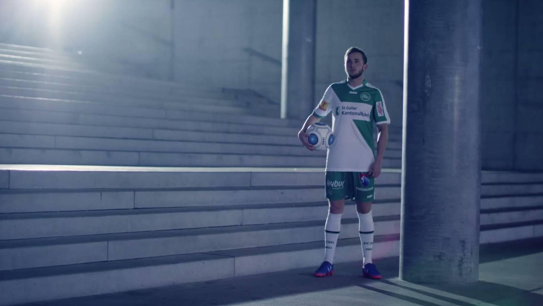 Mittelfeldspieler Lucas Cueto fühlt sich wohl beim FC St.Gallen.