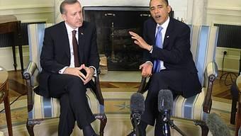 Erdogan besucht Obama im Weissen Haus