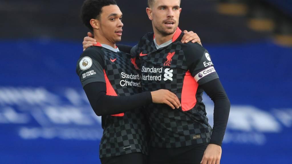 Liverpool im Hoch, Arsenal im Kriechgang