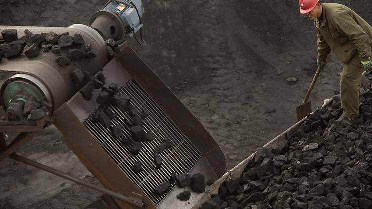 China bezieht bis Jahresende keine Kohle mehr aus Nordkorea. (Archiv)