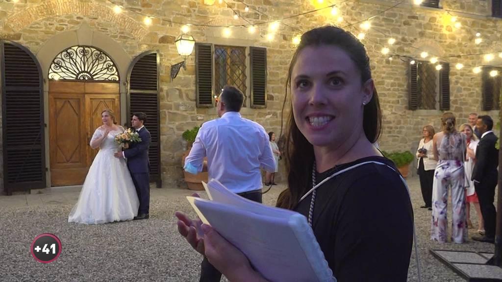 Luzerner Hochzeitsplanerin ist bei der Trauung «der Schatten des Brautpaars»