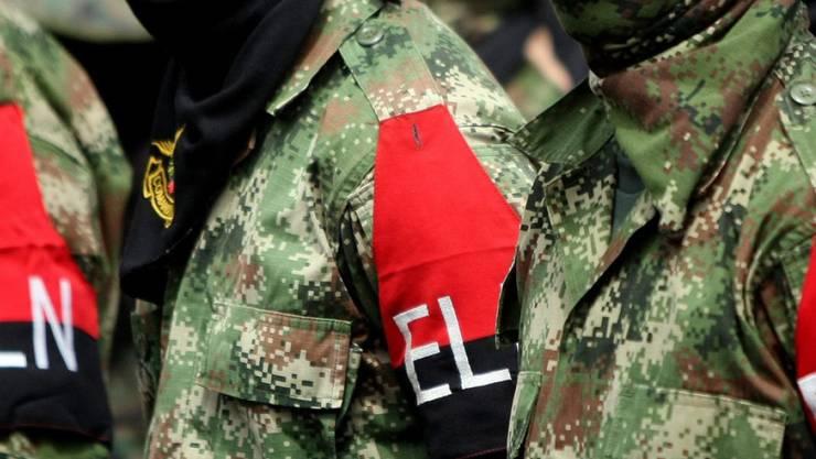 """""""Sicherheitshalber festgenommen"""": Die kolumbianische """"nationale Befreiungsarmee"""", kurz ELN, hat zwei niederländische Journalisten in ihrer Gewalt. (Archivbild)"""