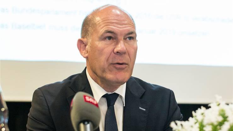Für Finanzdirektor Anton Lauber ist der Entscheid zum Finanzhaushaltsgesetz auch ein wichtiger Formtest.