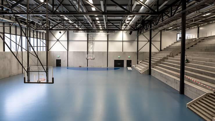 Die Sport-Arena GoEasy Anfang Woche - am Samstag steigt die Premiere.