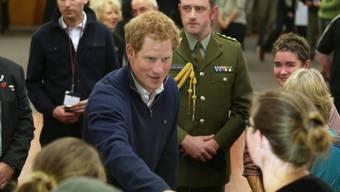 Prinz Harry in Stewart Island