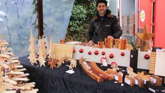 Der Adventsmarkt des Klosters Mariastein.