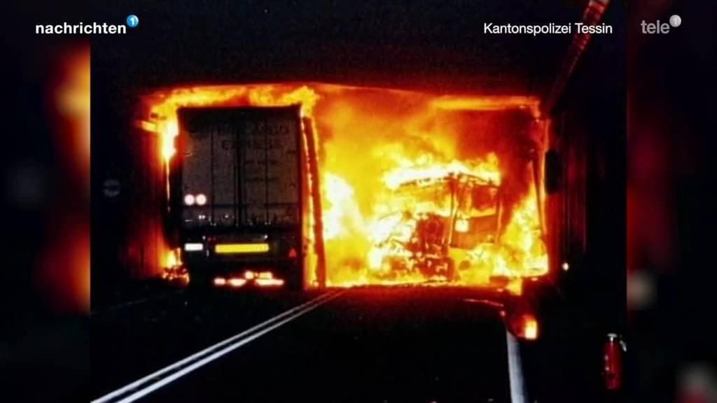 20 Jahre Brand im Gotthardtunnel