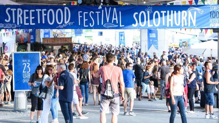 Steeetfood Festival in Solothurn (2017) - das sind die besten Bilder