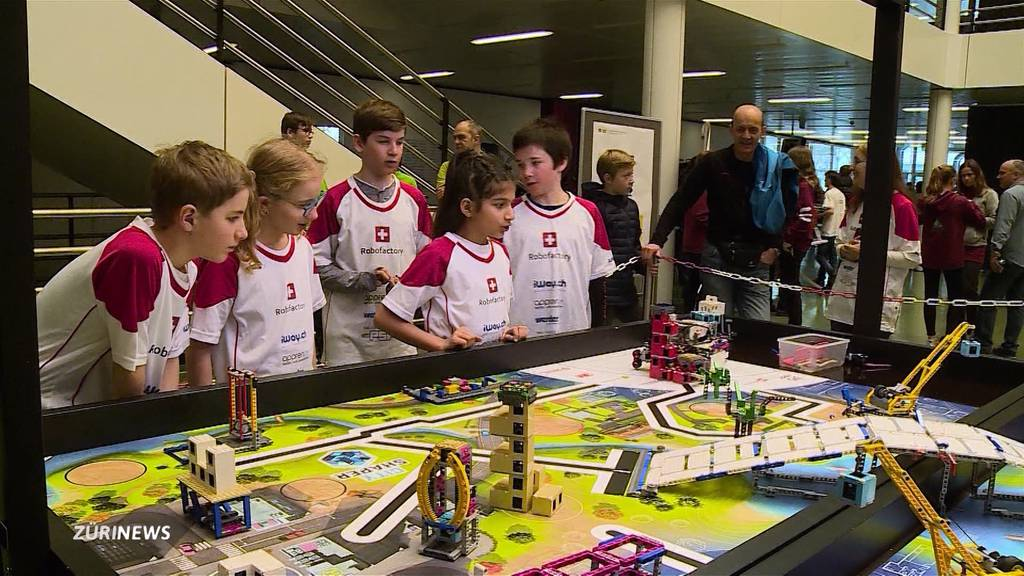LEGO-League: Roboter Schweizermeisterschaft in Windisch