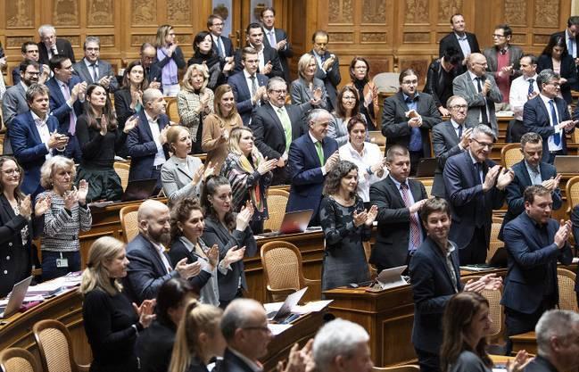 In Bundesbern setzt man auf Kompromisse und Bescheidenheit. Im Bild der Nationalrat in der Wintersession.
