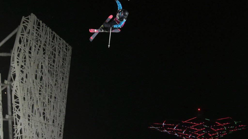 Mathilde Gremaud schaffte es im Weltcup zum zweiten Mal aufs Podest