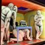 """Szenen wie Gemälde, eine vernachlässigbare Handlung und eine seltsame Sprache: Der gefeierte Regisseur Ersan Mondtag hat am Theater Basel """"Kaspar Hauser und Söhne"""" inszeniert. (zVg)"""