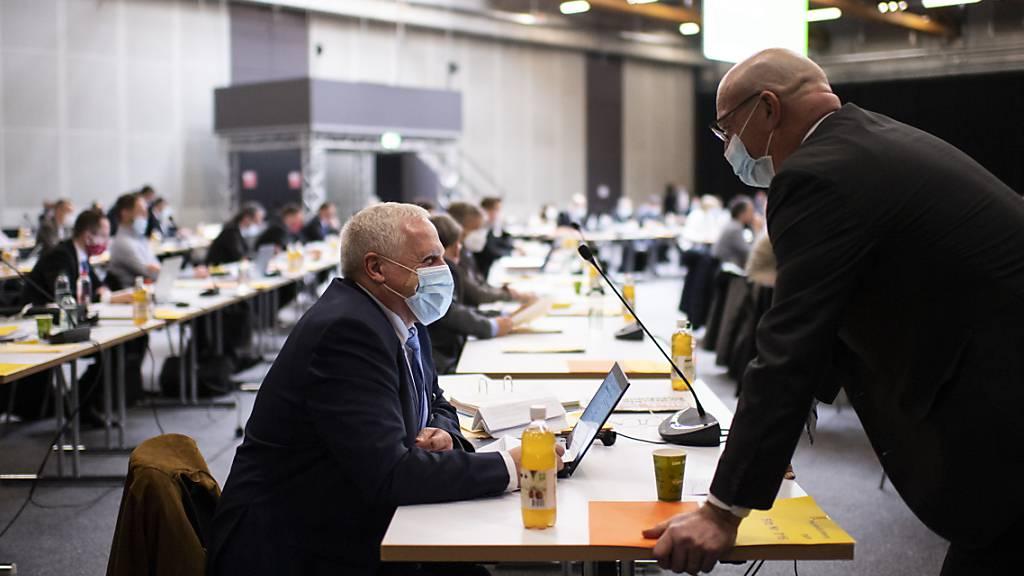 Der St. Galler Kantonsrat wird in der Septembersession über weitere Spezialfälle für die Unterstützung wegen der Pandemie entscheiden. (Archivbild)