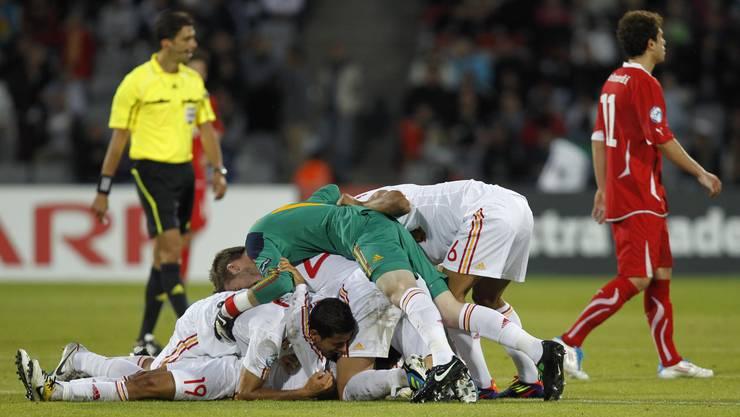 Spanien gewinnt den U21-EM-Final - Admir Mehmedi zieht enttäuscht von dannen