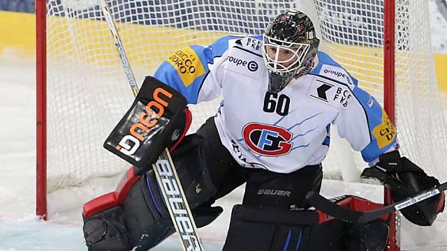 Fribourg-Goalie Melvin Nyffeler
