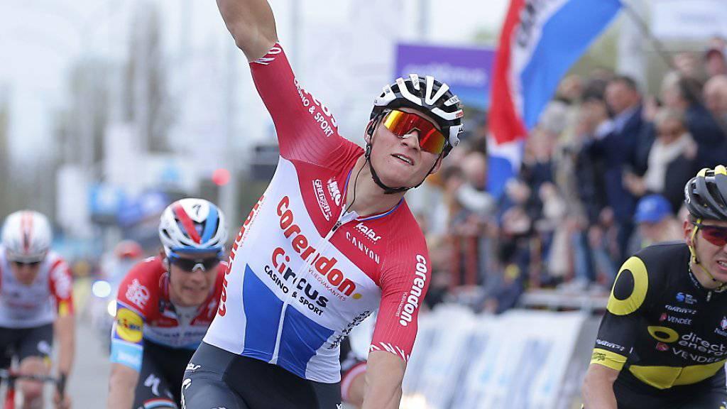 Brilliert in diesem Jahr auch auf der Strasse: das niederländische Rad-Multitalent Mathieu van der Poel