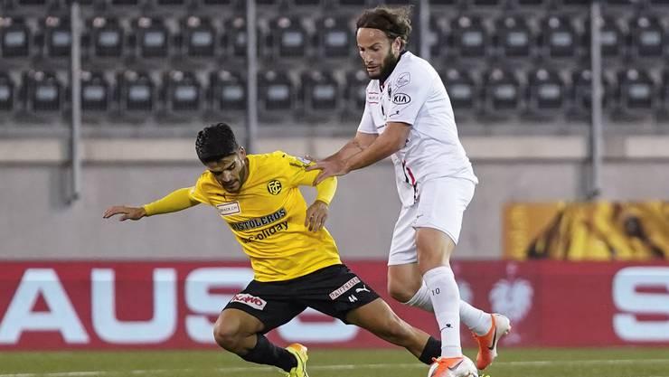 Der FC Aarau wollte auswärts gegen Schaffhausen seine gute Form bestätigen.