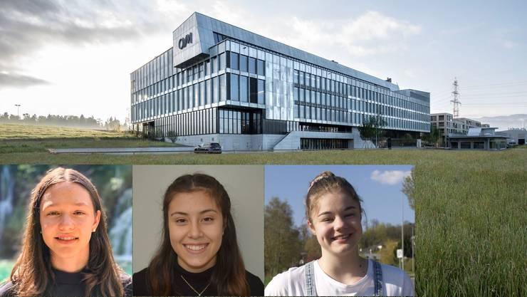 Am Montag sind zum Auftakt der Handball-Akademie am OYM auch drei junge Aargauerinnen mit dabei.