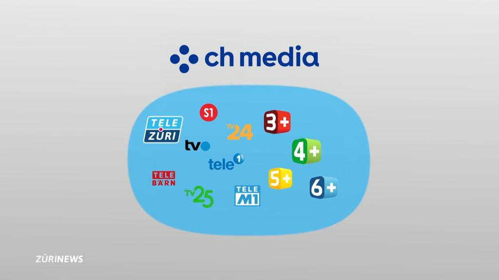 CH Media kauft «3+»-Sendergruppe