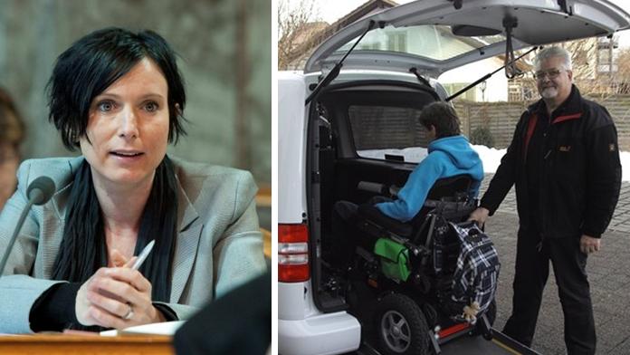 SP-Ständerätin setzt sich für den Behinderten-Transport ein.