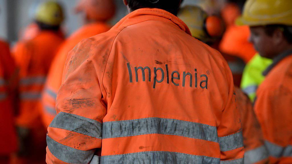 Implenia hat in der ersten Jahreshälfte den Umsatz um 3,3 Prozent gesteigert.