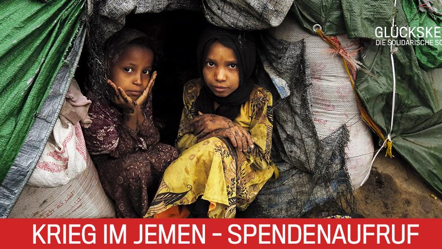 Krieg in Jemen: Glückskette-Sammeltag