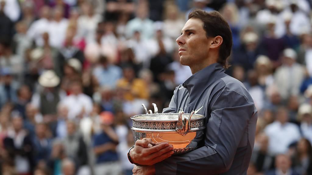 So sieht es im Normalfall Anfang Juni aus: Rafael Nadal als Sieger des French Open