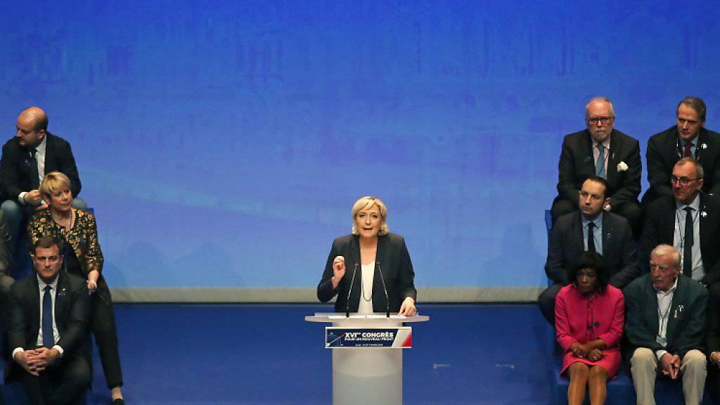 Le Pen: Front National soll künftig Rassemblement National heissen
