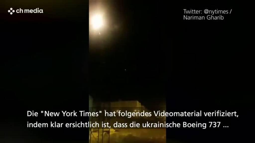 Video zeigt Abschuss der Boeing 737