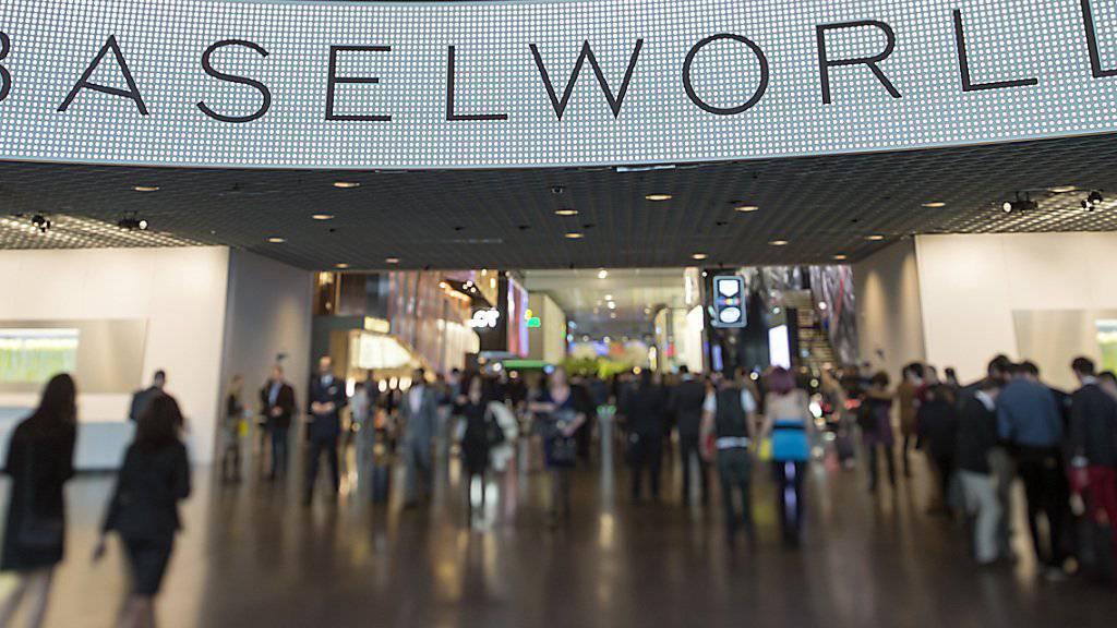 Die Uhrenmesse Baselworld öffnet am Donnerstag ihre Tore. (Archiv)