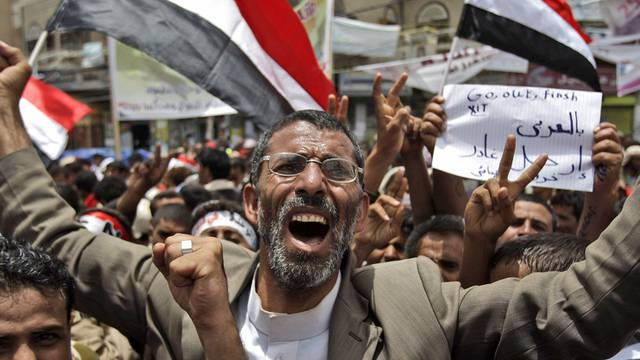 Proteste gegen die Regierung in Sanaa
