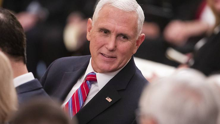 US-Präsident Donald Trump hat versichert, 2020 mit dem heutigen Vizepräsidenten Mike Pence (Bild) in die Wahlen gehen zu wollen.