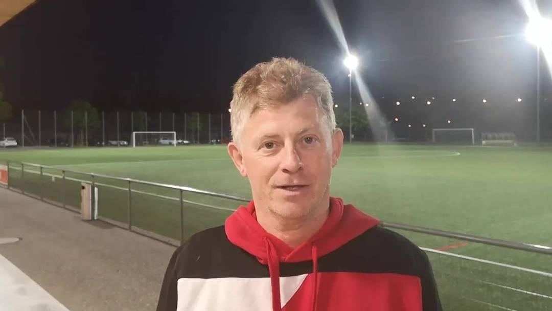 Trainer Charles Grütter im Abschiedsinterview.