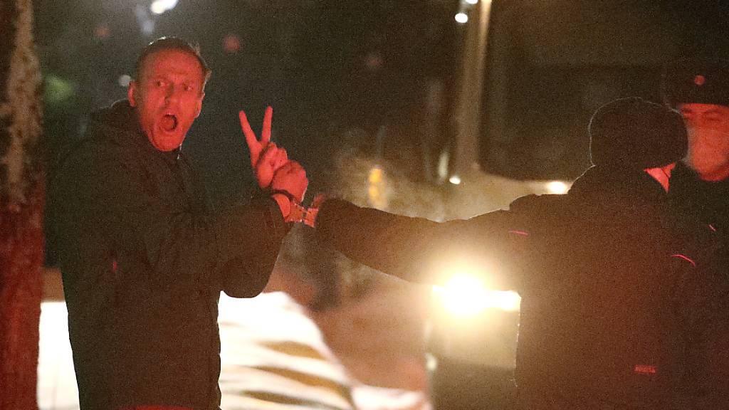 Nawalny im Knast, Putin im Palast - Opposition ruft zu Protest auf