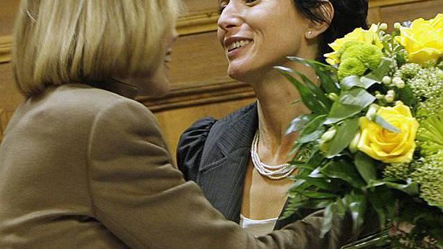 Pascale Bruderer für ein Jahr höchste Schweizerin (Archiv)