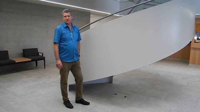 «Wir sind parat»: Gemeindeammann Daniel Suter am Montag im neuen Gemeindehaus.